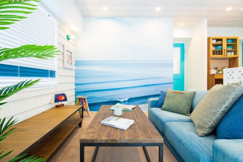 マイリノbyグローバルベイス「OCEAN STYLE RENOVATION~都心でカリフォルニアの開放感と海を感じるリノベーション~」