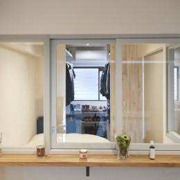 室内窓 (コンパクトな空間を無駄なく活用して快適に)