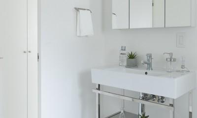 建築家の好む家 (洗面室)