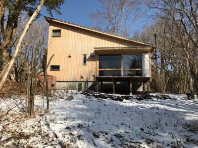 ごたごた荘に雪が降る (OUR CABIN OUR DIY~直営、DIYで小屋をつくる~)