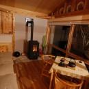 OUR CABIN OUR DIY~直営、DIYで小屋をつくる~の写真 あかりを楽しむ