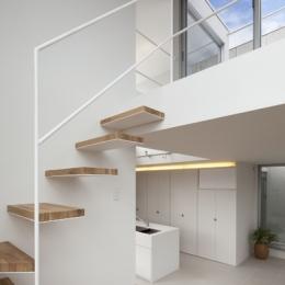 上高井戸の家 (階段)