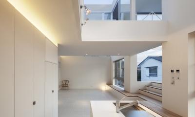 上高井戸の家 (リビング)