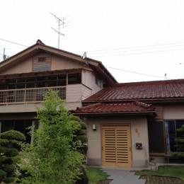 茨城県の減築計画 (減築前)
