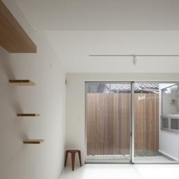 上高井戸の家の部屋 寝室