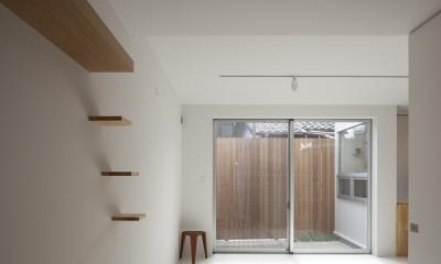 上高井戸の家 (寝室)