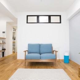 混雑しがちな場所を回遊動線で。土間・通気性・子供部屋を取り入れた夢のマンションリノベ。