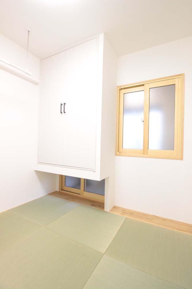 湘南リフォーム「混雑しがちな場所を回遊動線で。土間・通気性・子供部屋を取り入れた夢のマンションリノベ。」