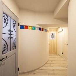 築31年 マンション フルリノベーション (玄関ホール)