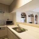築31年 マンション フルリノベーションの写真 対面キッチン