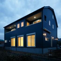 ギャンブレル屋根の家 (外観2)