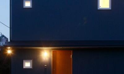 ギャンブレル屋根の家 (外観3)