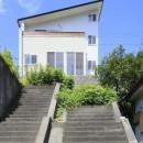 本棚階段のお家の写真 外観1