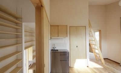 本棚階段のお家 (内観3)
