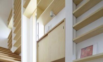 本棚階段のお家 (内観4)
