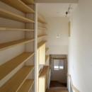 本棚階段のお家の写真 内観5