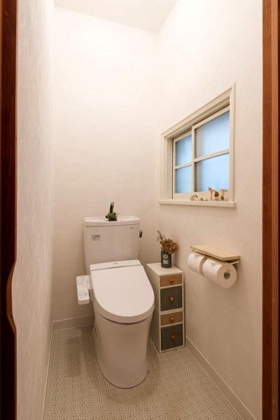 時代の面影を残しつつ、使い勝手の良い空間へ (トイレ)