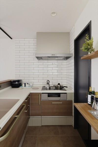 キッチン (N邸_これからの夫婦の暮らし)