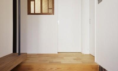 N邸_これからの夫婦の暮らし (玄関)