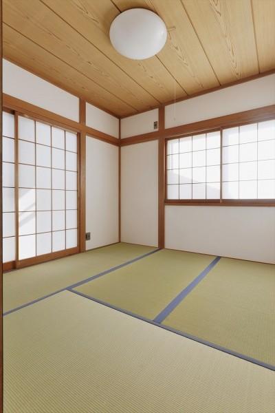 和室 (N邸_これからの夫婦の暮らし)