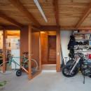 守谷の住宅の写真 土間スペース(バイクスペース)