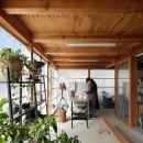 守谷の住宅の写真 土間スペース(アトリエスペース)
