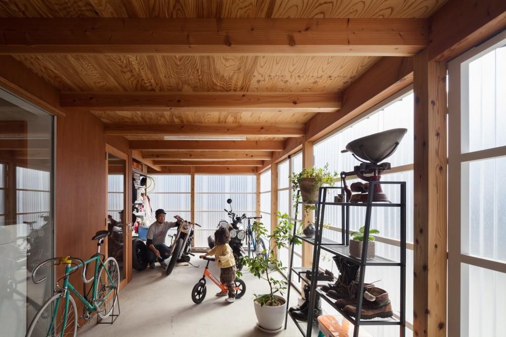 守谷の住宅 (土間スペース)