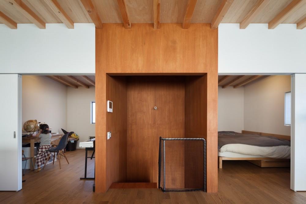 守谷の住宅 (階段室)