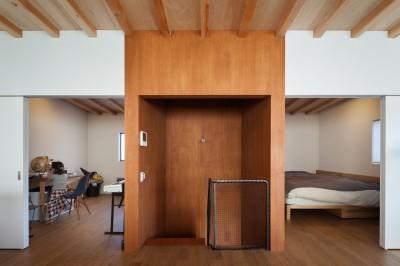 階段室 (守谷の住宅)