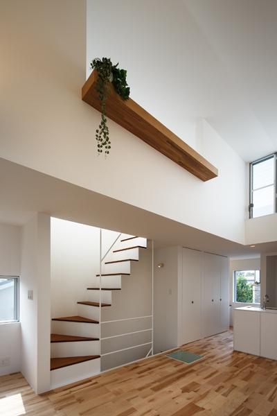 上鶴間の家の部屋 リビング