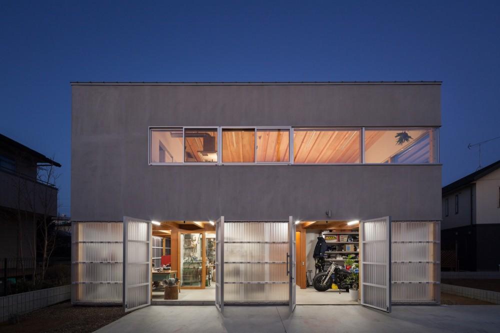 納谷建築設計事務所「守谷の住宅」
