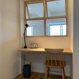 ~ DINKS・単身者向けのフルリノベーション ~ リバービュー ~ (洋室にあるワーキングスペース。読書などの趣味の場所にも。)