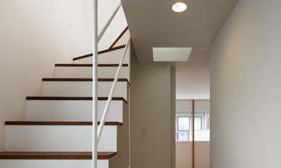 上鶴間の家 (階段廊下)