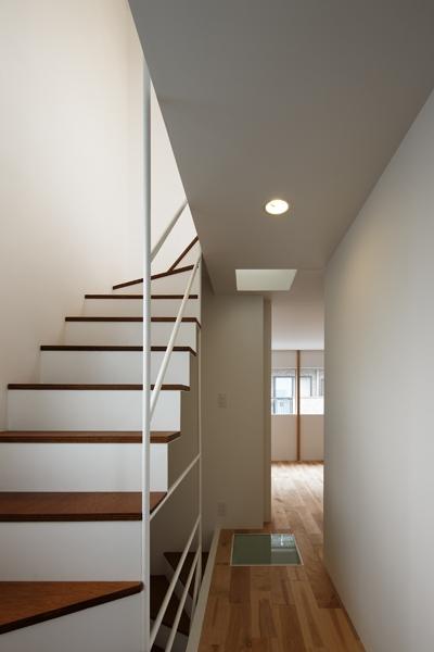 上鶴間の家の部屋 階段廊下