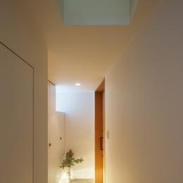 上鶴間の家 (玄関ホール)