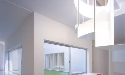 橋本の住宅 (1階スタディールーム)