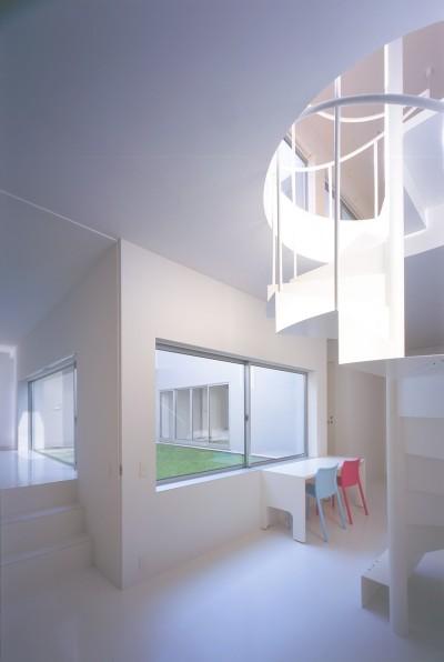 1階スタディールーム (橋本の住宅)