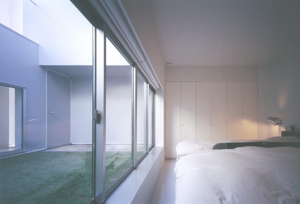橋本の住宅 (1階寝室)
