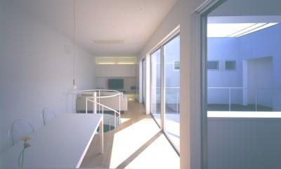 橋本の住宅 (2階LDKスペース)