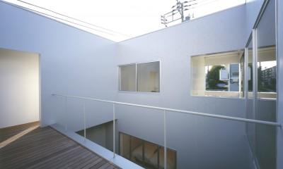 橋本の住宅 (2階テラス)