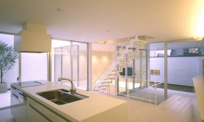 渋谷の住宅 (キッチン、ダイニング)