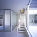 渋谷の住宅の写真 階段
