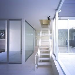 渋谷の住宅 (階段)