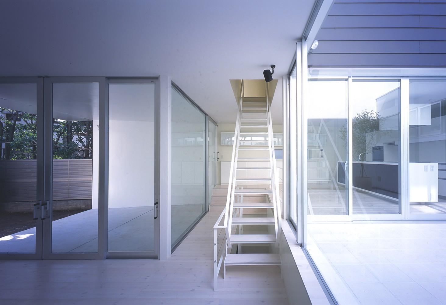 その他事例:階段(渋谷の住宅)