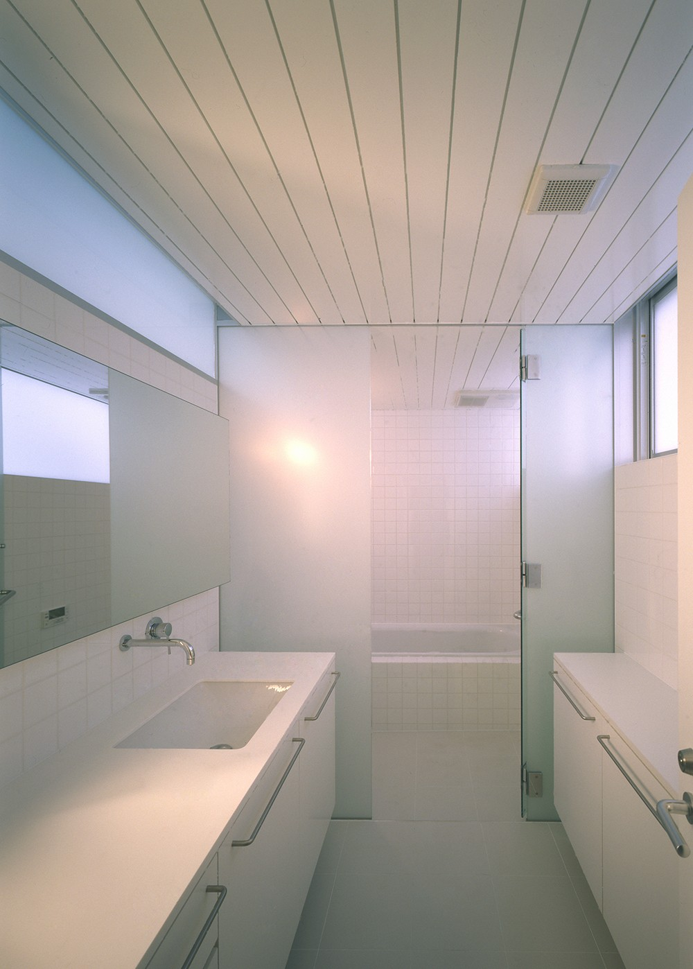 渋谷の住宅 (洗面・浴室)
