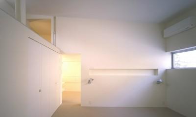 渋谷の住宅 (寝室)