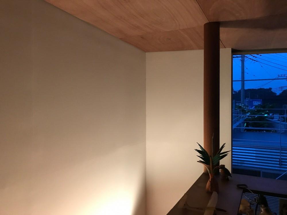 三角地で開放的に暮らす家|K HOUSE (個室)