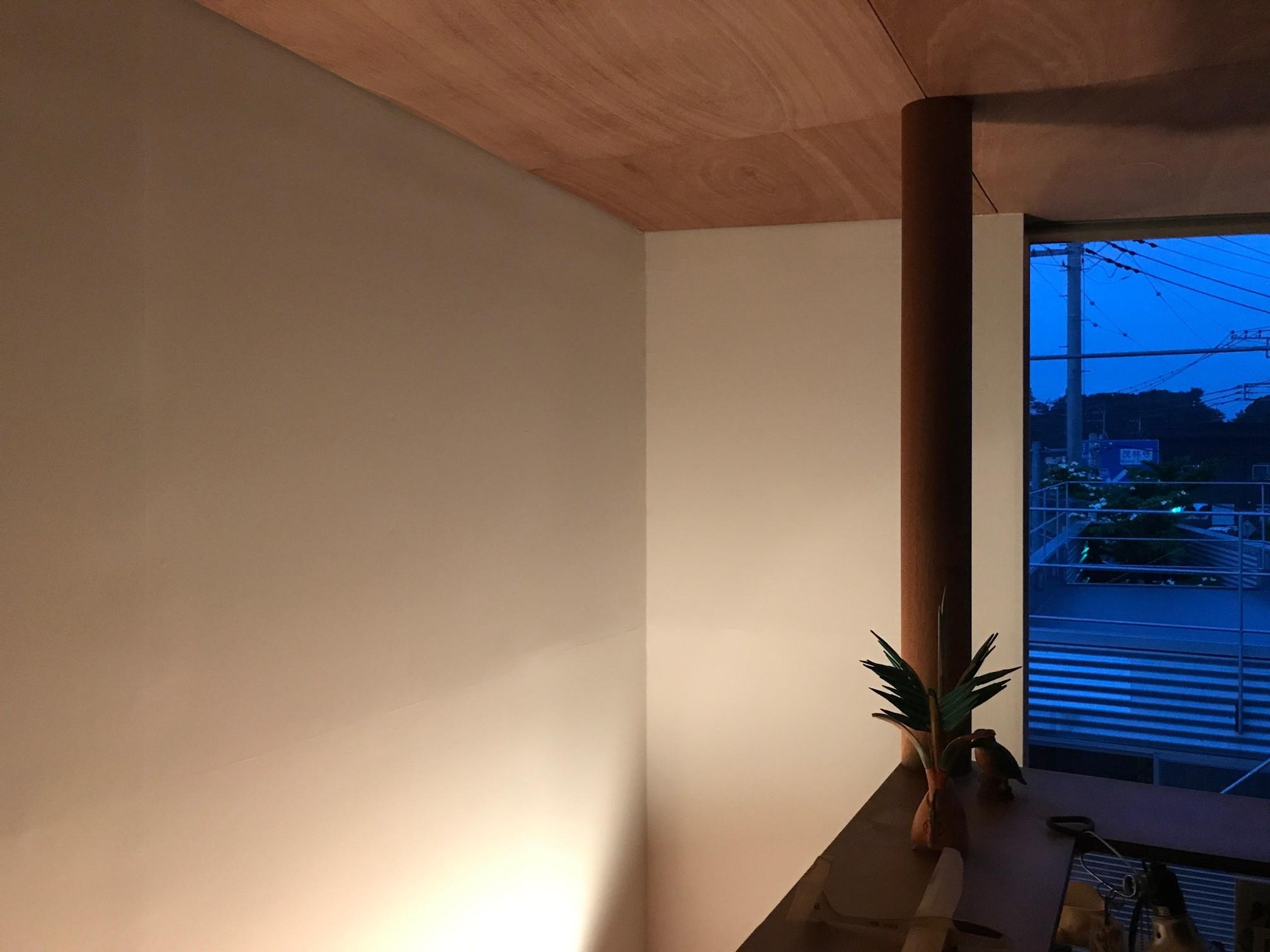 ベッドルーム事例:個室(三角地で開放的に暮らす家|K HOUSE)