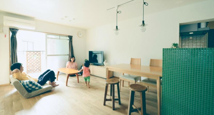 リノベーション / Leafの部屋 リビングダイニング