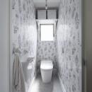 西海岸仕立ての鉄骨戸建てリノベの写真 トイレ